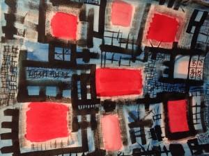 Joe Wallace Bridgeport Art Center abstract Art
